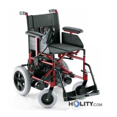 Sedia a rotella elettrica h31002 for Sedia elettrica x scale
