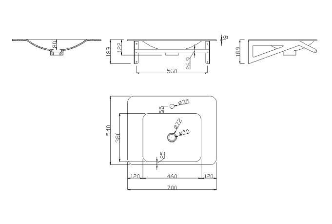 Lavabo per bagno ergonomico con braccio porta telo h9110 - Porta per bagno disabili ...