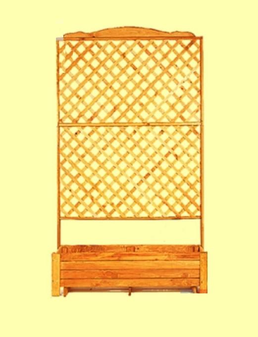 Fioriere in legno con grigliato la scelta giusta - Fioriera con grigliato ikea ...