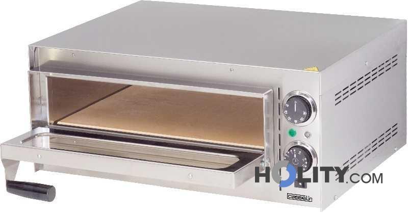 Forno pizza 1 camera con fondo in pietra refrattaria h11038 - Forno con pietra refrattaria ...