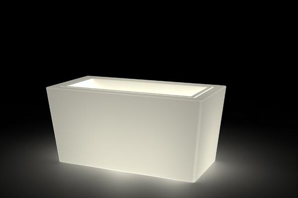 Vaso design con opzione luce h12709
