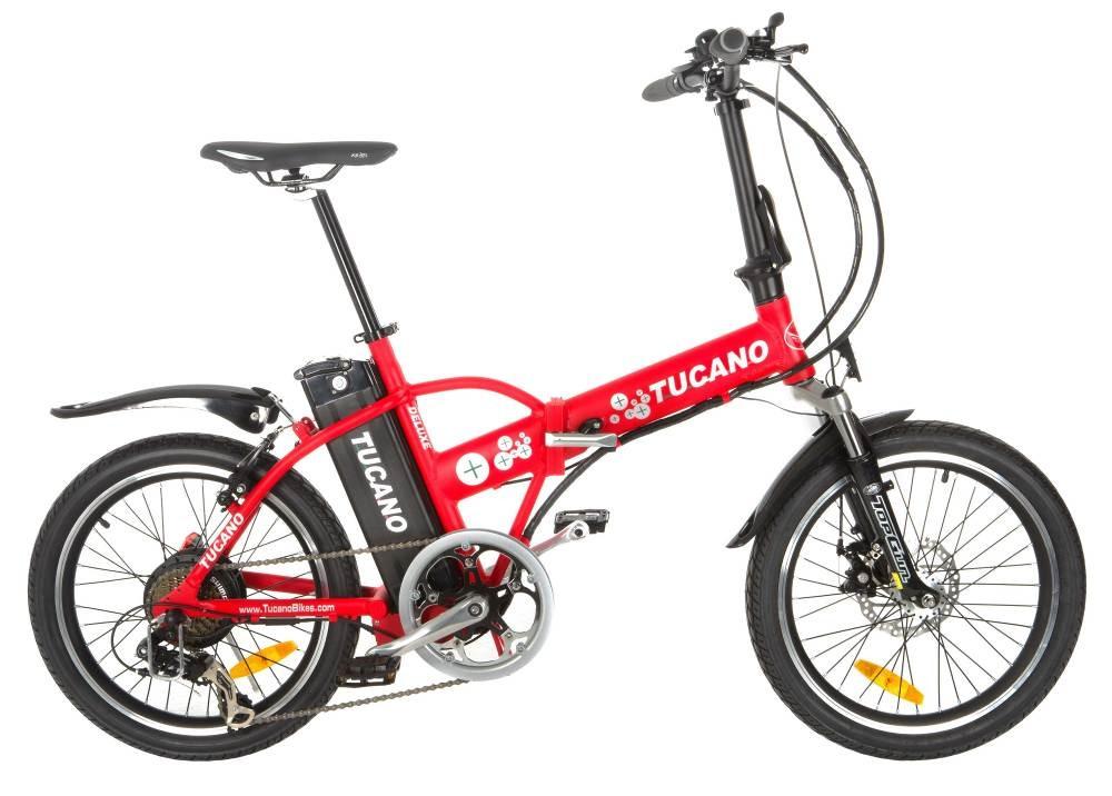 bici a pedalata assistita pieghevole tucano h29202
