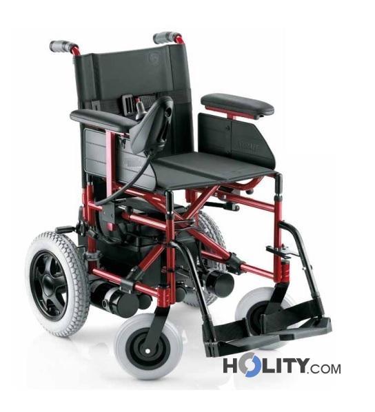 Sedia a rotella elettrica h31002 for Sedia elettrica edison