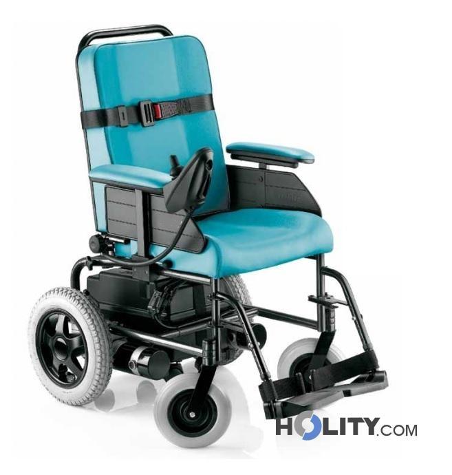 Sedia a rotelle elettrica per disabili h31003 for Sedia a rotelle per gatti