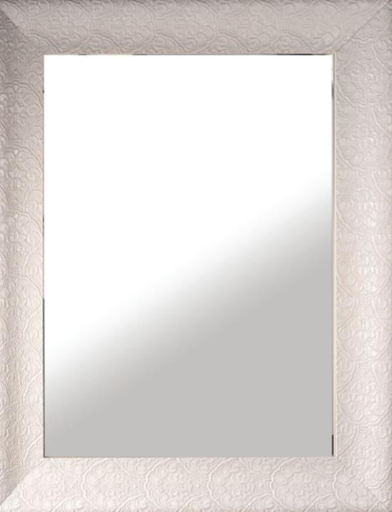 Specchio reversibile con cornice in legno laccata h3911 - Specchio con cornice ...
