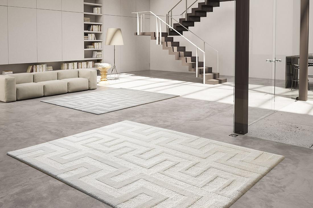 Tappeto soggiorno moderno idee per il design della casa - Tappeti moderni ...