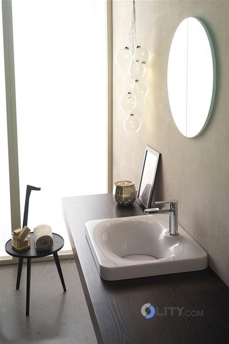 Lavabo da incasso fuji scarabeo h25703 - Lavabo bagno da incasso ...