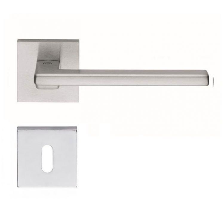 Maniglia di design per porte interne h24606 - Maniglie porte interne cromo satinato ...