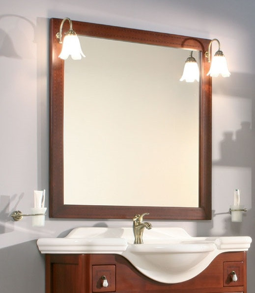 Specchiera per mobile bagno classico h21008 - Specchiera per bagno ...