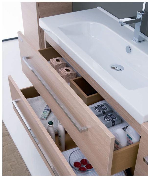 Lavabo bagno con mobile sospeso idee per interni e mobili - Lavabo bagno sospeso ...