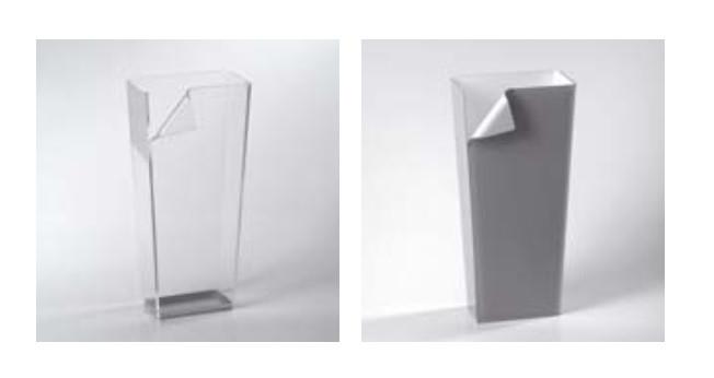 Portaombrelli di design vesta in plexi h9633 - Porta ombrelli design ...