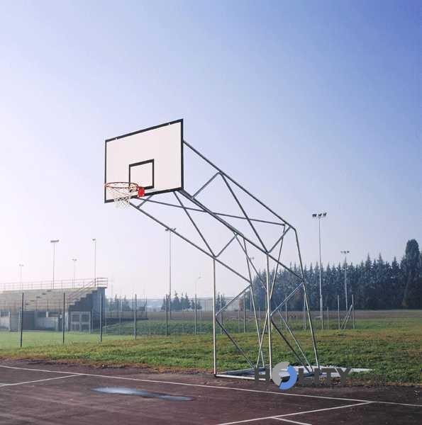 Impianto basket a traliccio h3702