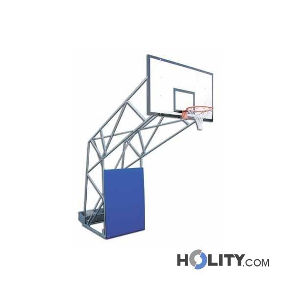 Impianto basket fisso h3646