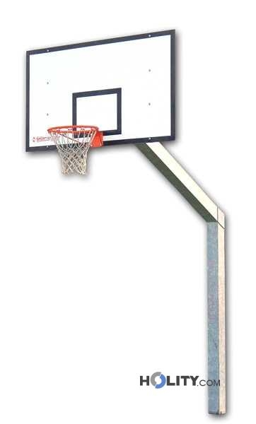 Impianto basket monotubolare h3701