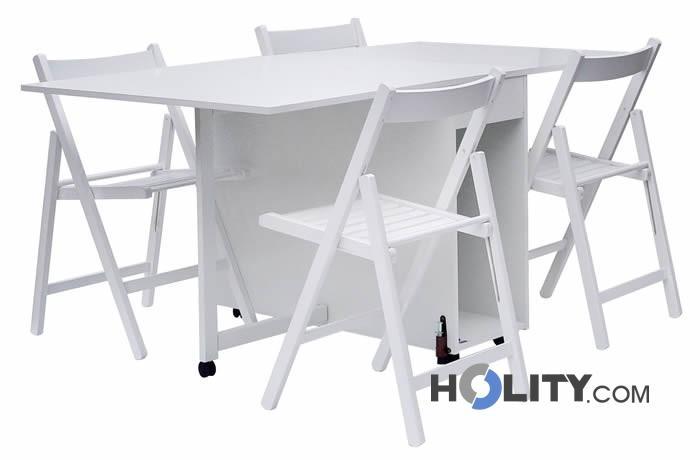 Tavoli In Legno Pieghevoli Ikea.Ikea Tavolo Pieghevole Con Sedie Interno Di Casa Smepool Com