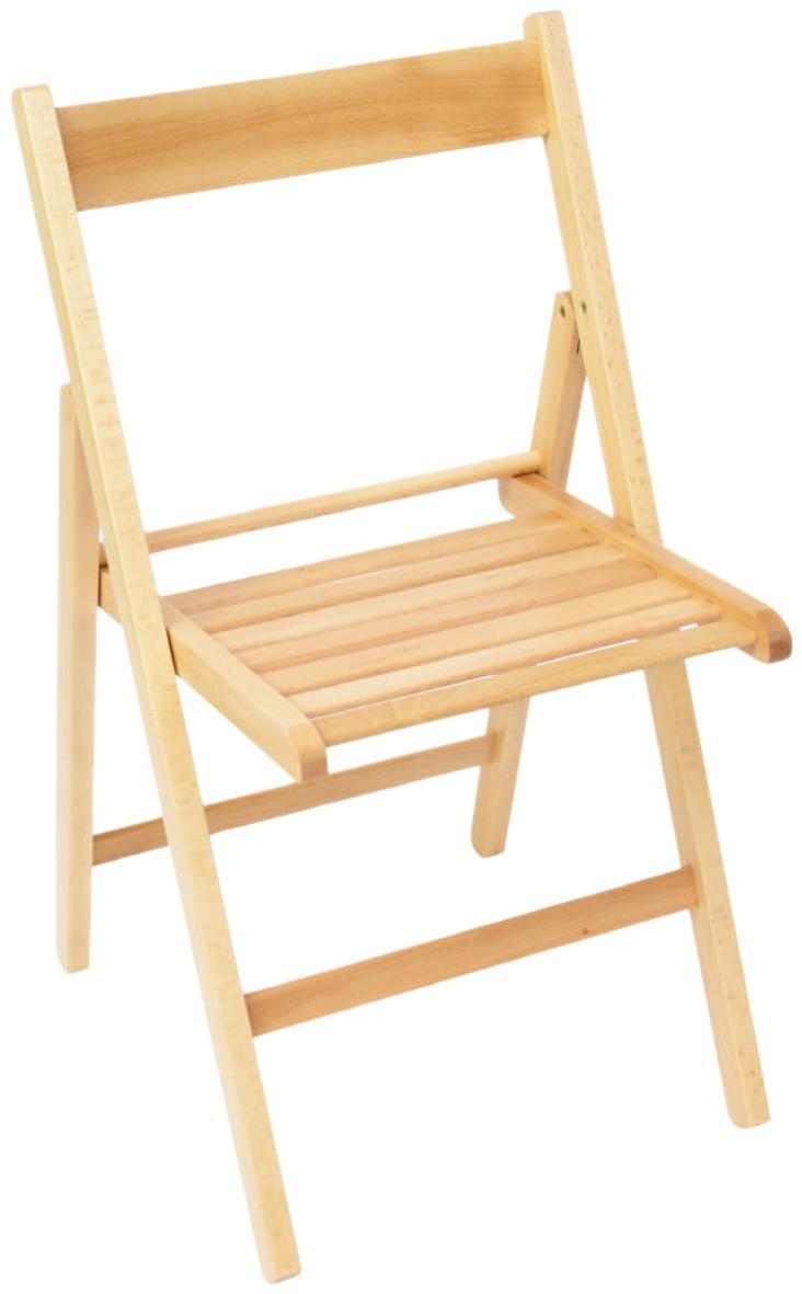 Sedie pieghevoli confronta prezzi e offerte sedie for Sedie acciaio e legno