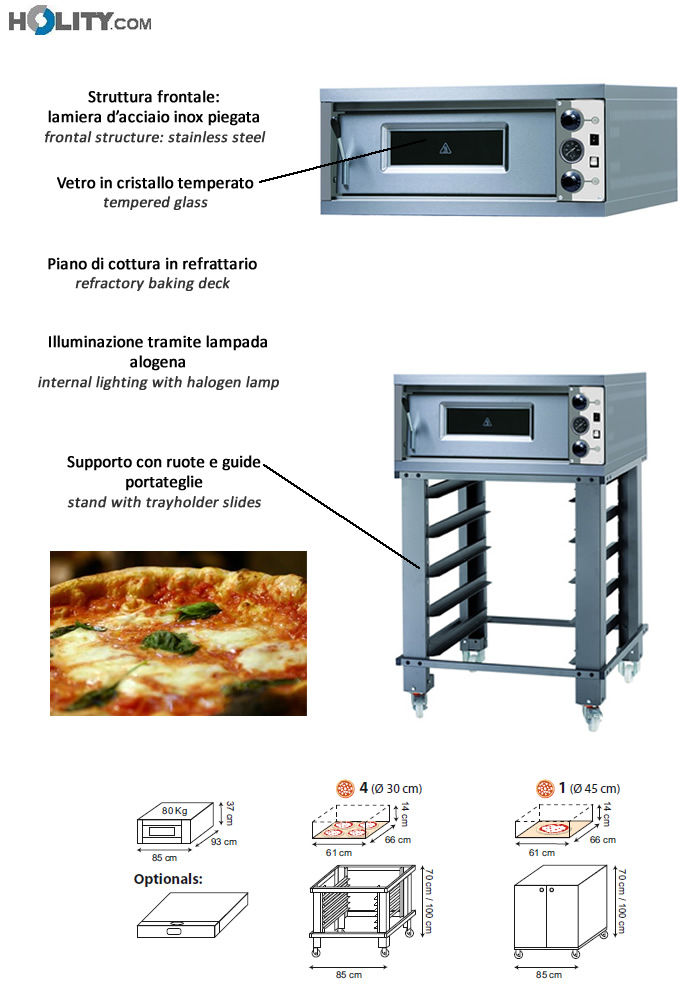Forno elettrico per pizza h14701 - Forno elettrico pizza casa ...