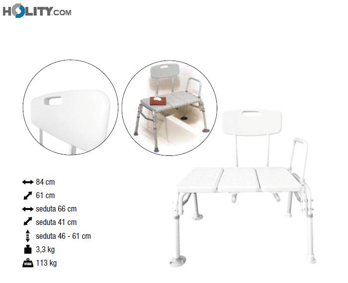 Cerchi panca da bagno h13622 - Panca per bagno ...