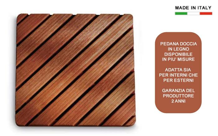 Tappeto doccia legno u2013 idee per la casa