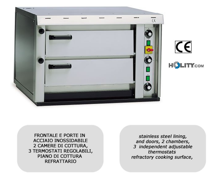 Forno elettrico mini per pizzeria h11744 - Forno elettrico per pizze ...