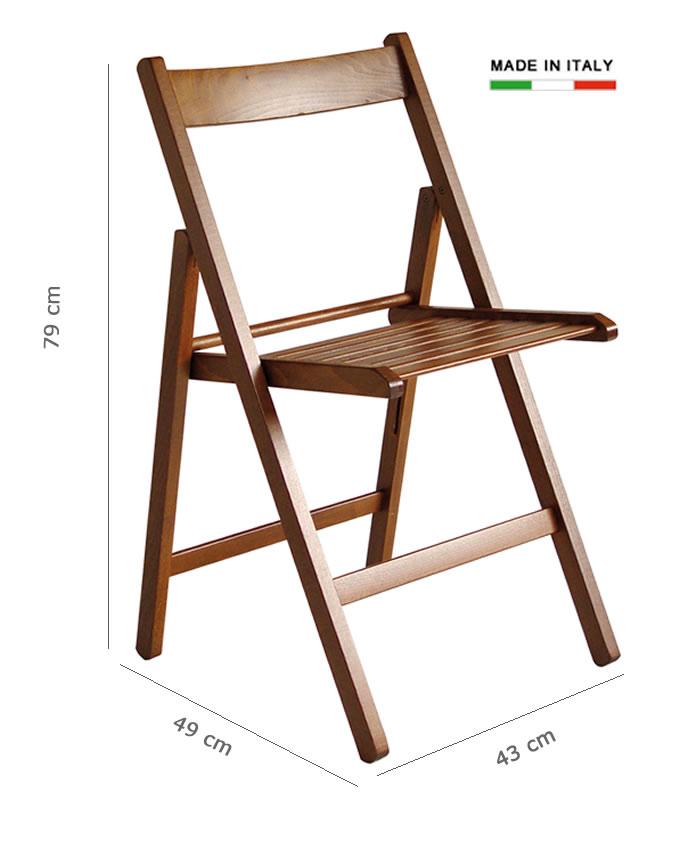 Cerchi sedia pieghevole in legno h8247 for Sedie design legno naturale