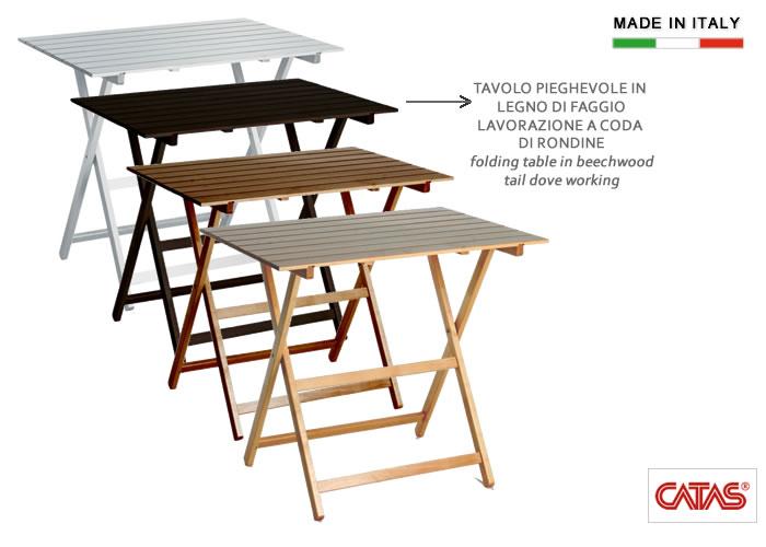 Cerchi tavolo pieghevole in legno h8220 ampia scelta su - Tavolo in legno pieghevole ...