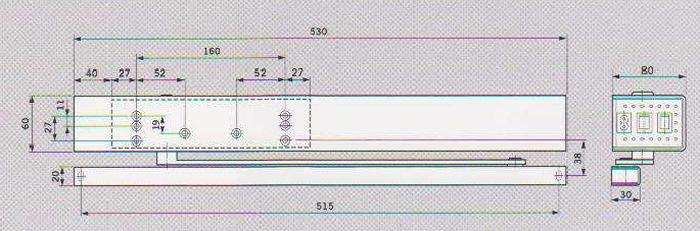 Cerchi chiudiporta elettrico porteo h0510 - Come regolare un chiudiporta ...