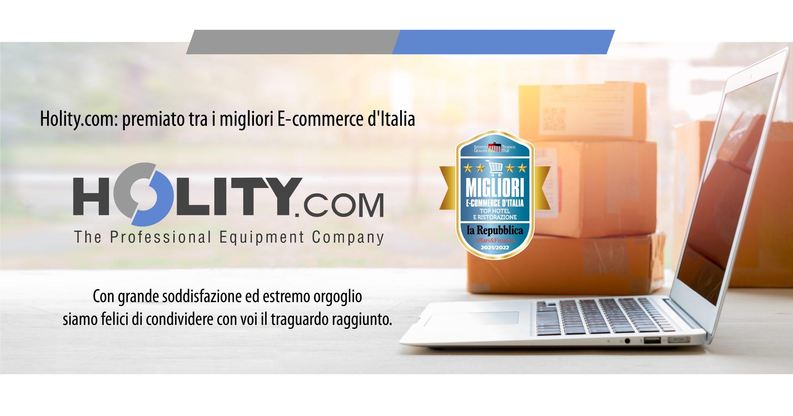 Holity.com tra i Migliori E-Commerce d'Italia